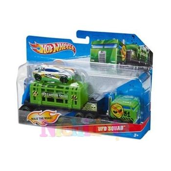 Camion cu remorca, Hot Wheels - Captura