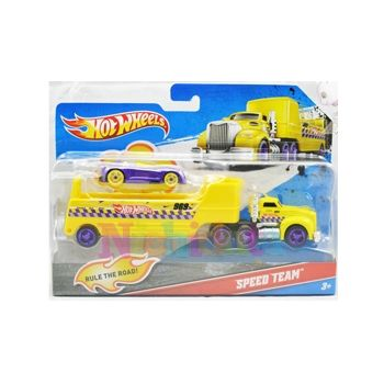 Camion cu remorca, Hot Wheels - Speed Te
