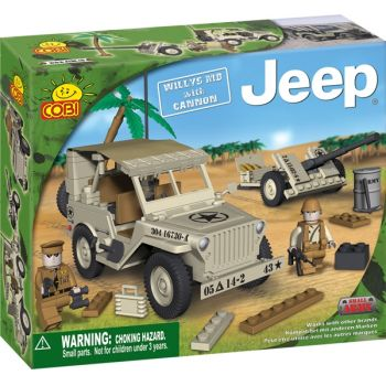 Jeep Willys MB gri cu tun - 24181