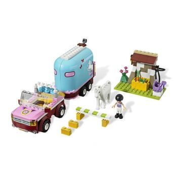 Jucarie Lego Friends Masina de transportat cai copii