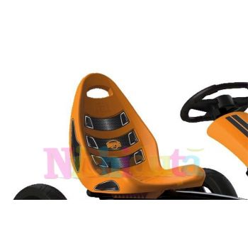 Kart cu pedale Berg Rally Orange