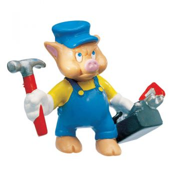 Figurina Little Pigs Mechanic