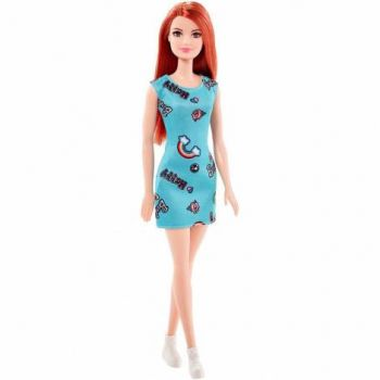 Papusa Mattel Barbie Model Clasic Roscata