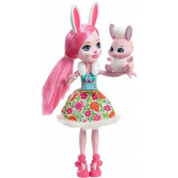 Papusa Mattel Enchantimals BREE BUNNY
