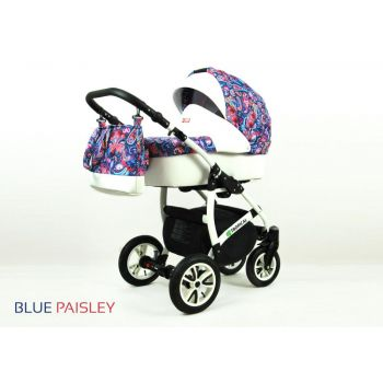 Carucior Tropical 3 in 1 Blue Paisley
