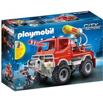 Set de Constructie Camion de Pompieri - City Action
