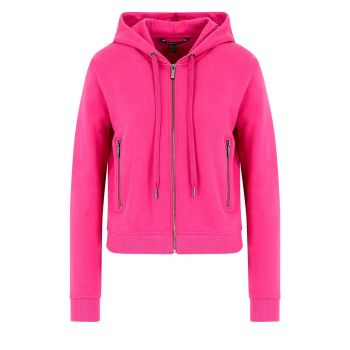 Hooded cardigan sweatshirt M