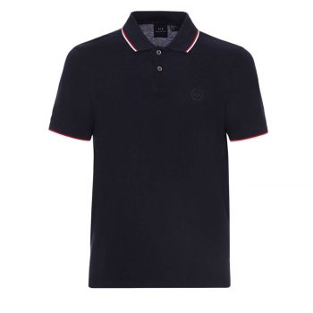 POLO SHIRT WITH CONTRAST PROFILES XL