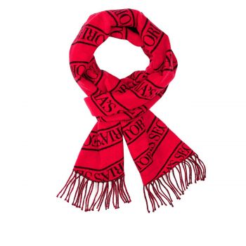 Woven Logo Scarf - One Size