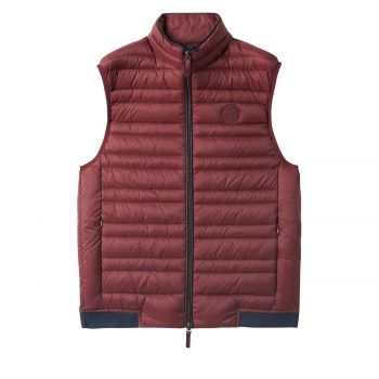GILET WITH REAL FEATHER PADDING M