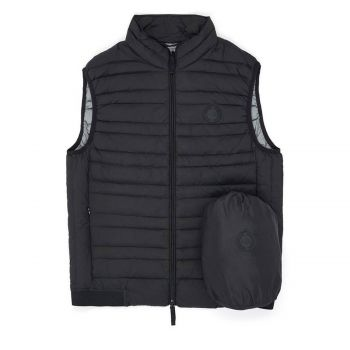 GILET WITH REAL FEATHER PADDING S