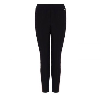 LEGGINGS WITH CONTRASTING STRIPE L