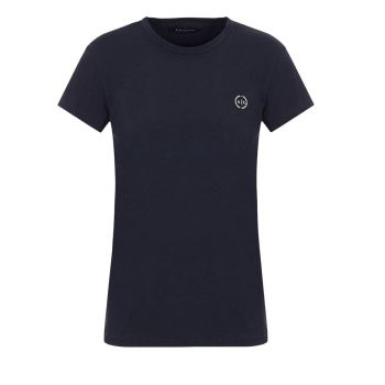 STRETCH COTTON JERSEY T-SHIRT L