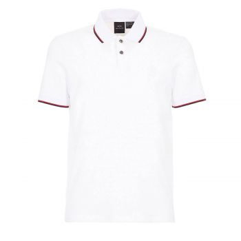 POLO SHIRT WITH CONTRAST PROFILES M