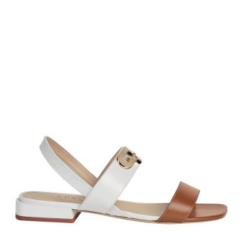 CHAIN Sandals Cognac H 37