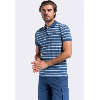 Tricou polo in dungi