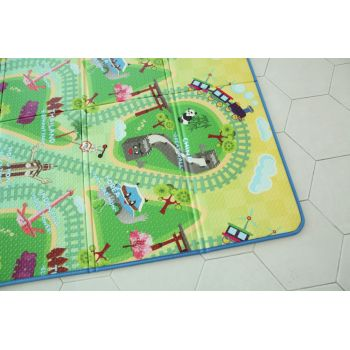 Saltea Sobble Asian Train Tour pliabila 1.4m 100 sigura eco-friendly Multicolor