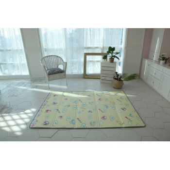 Saltea Sobble Marshmallow Dream pliabila 1.4m 100 sigura eco-friendly Multicolor