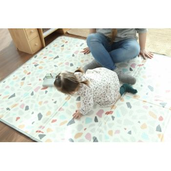 Saltea Sobble Terrazzo pliabila 1.4m 100 sigura eco-friendly Multicolor